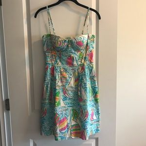 Lilly Pulitzer Georgie Dress in You Gotta Regatta